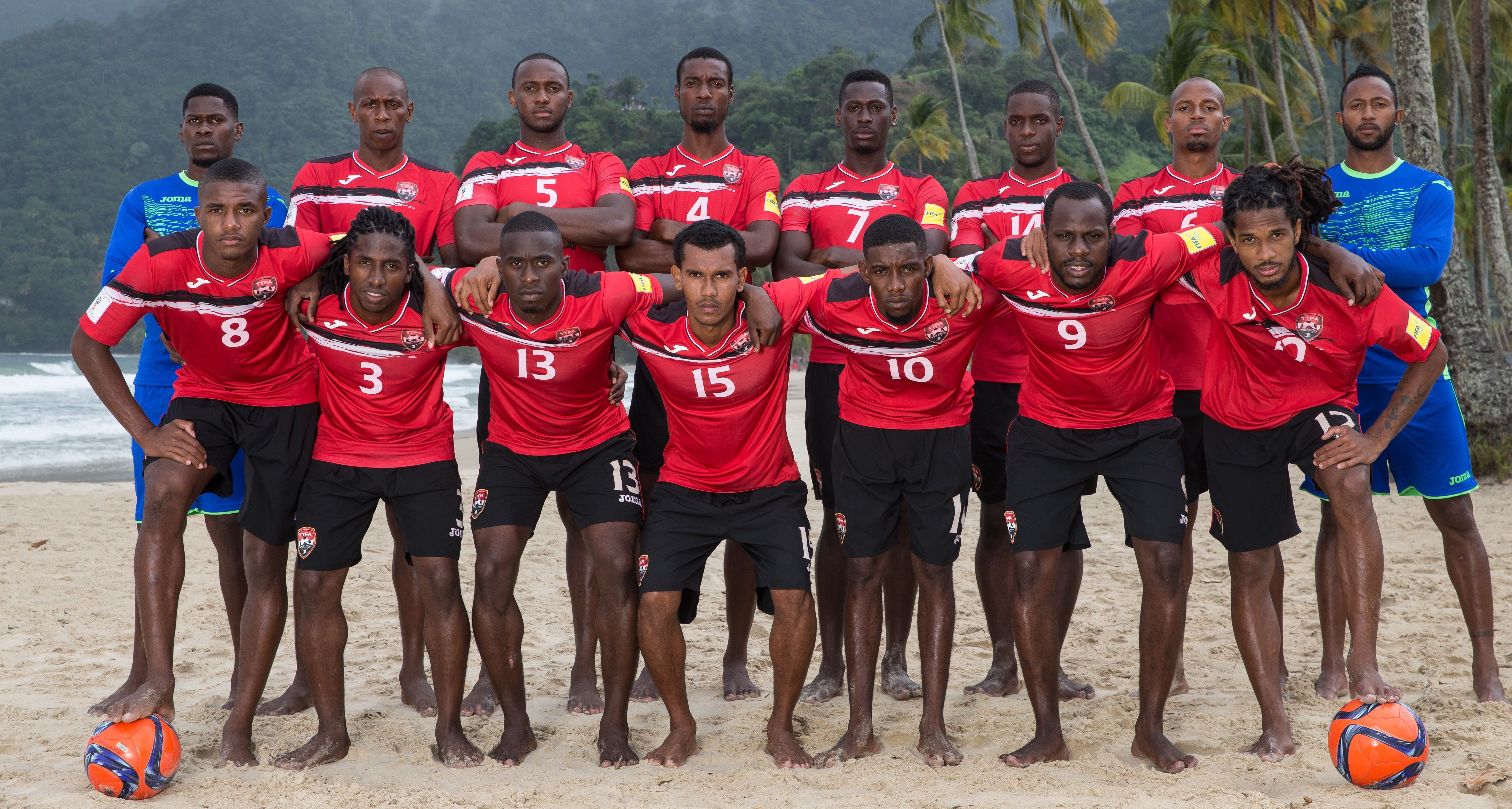 Beach Soccer Men start CONCACAF qualifiers versus Antigua.