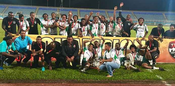 W Connection beat 10-man Police to 2017 FA Trophy crown.