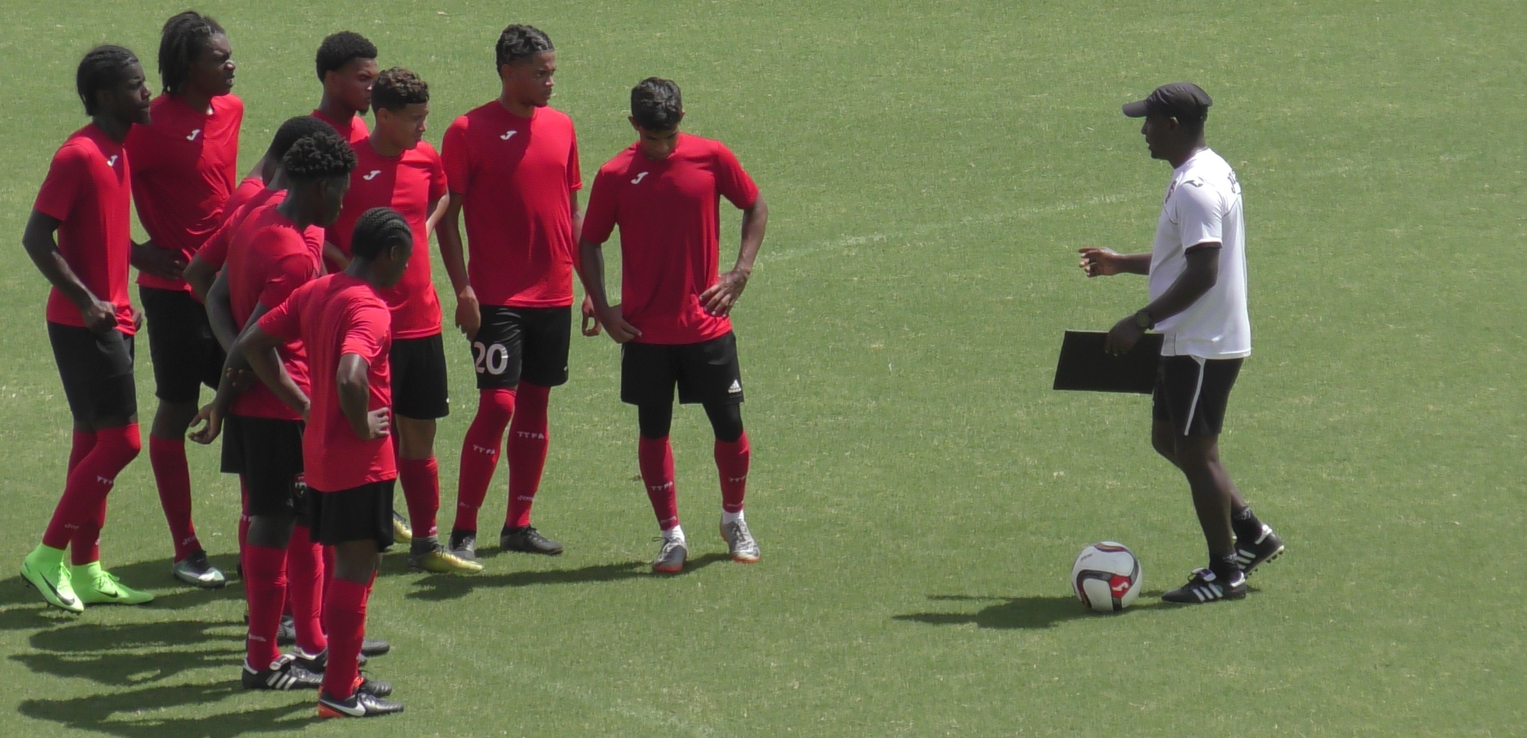 T&T U-20 coach laments team's attitude.