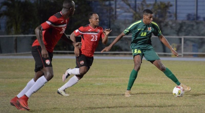 Joevin's first-half strike seals it for T&T over Guadeloupe.