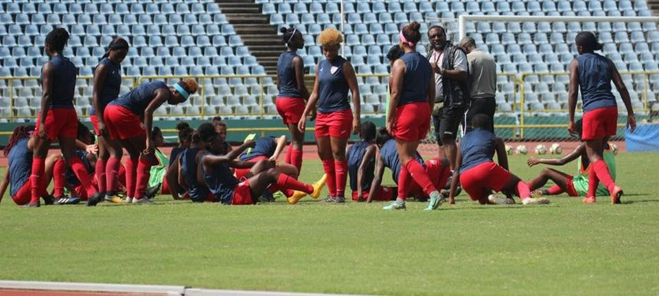 Shabazz concerned over depth in T&T women's football.