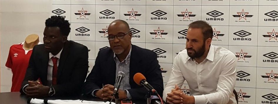 TT Super League partners with UMBRO.