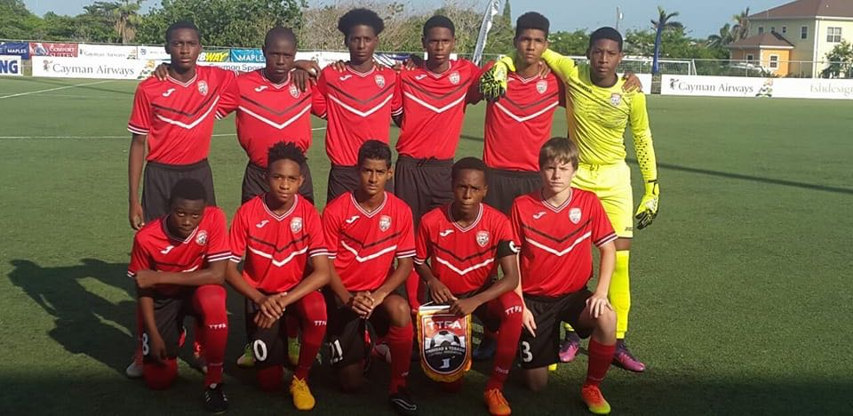 U-15s close off Cayman campaign with 6-0 win over hosts.