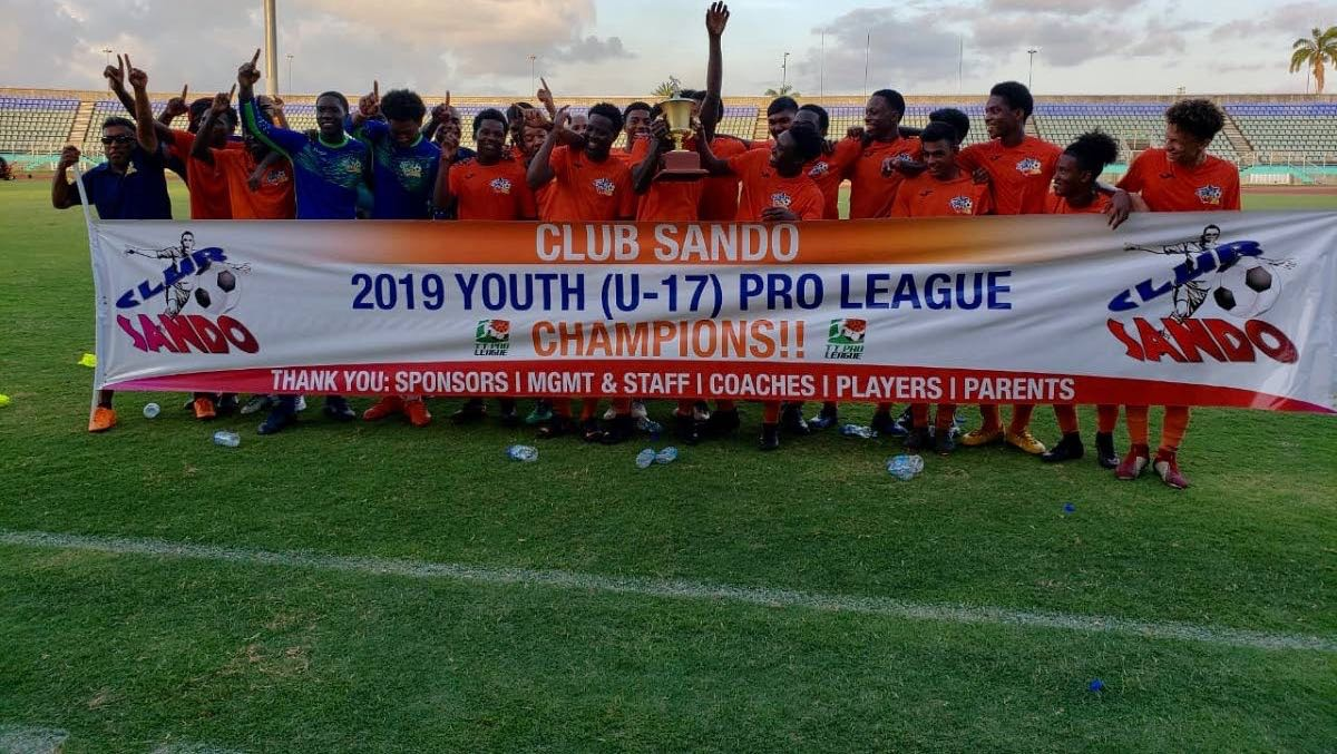 Youth Pro League 2019 Under-17 champions Club SandoYouth Pro League 2019 Under-17 champions Club Sando