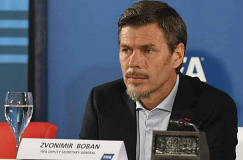 Photo: FIFA deputy general secretary and former AC Milan star Zvonimir Boban.