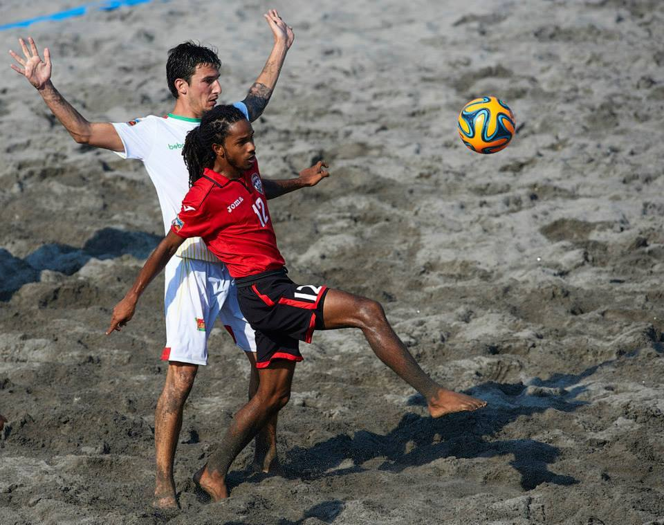 T&T, Mexico top group in beach soccer