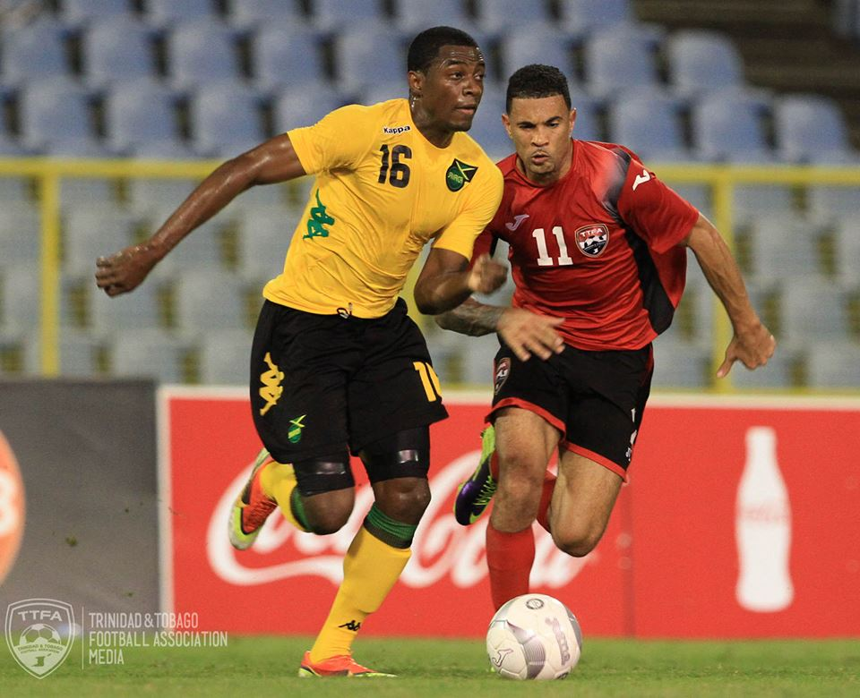 Carlos Edwards spurs on young T&T hopefuls.