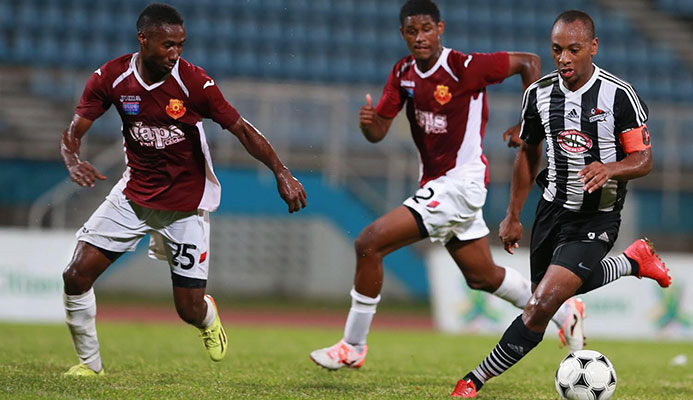 Stern John gives Central ninety minutes but North East Stars hit Sharks for six in Couva.