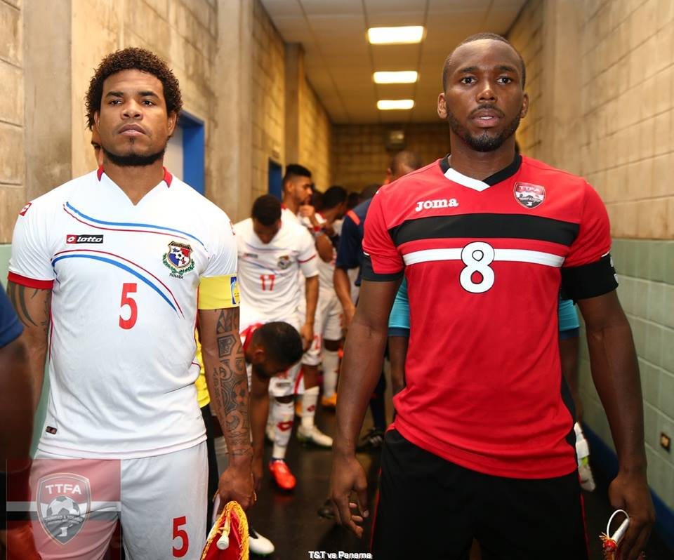 Panama's captain Roman Torres (on the left): We need to make T&T respect us.