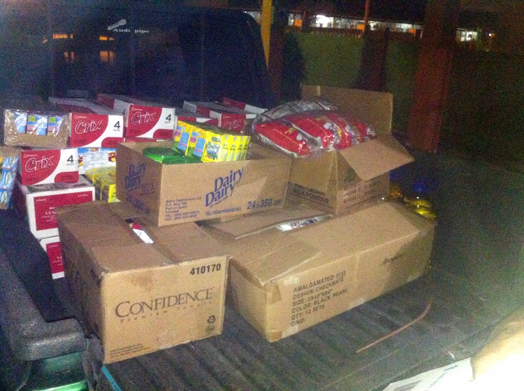 Holiday Food Drive 2014