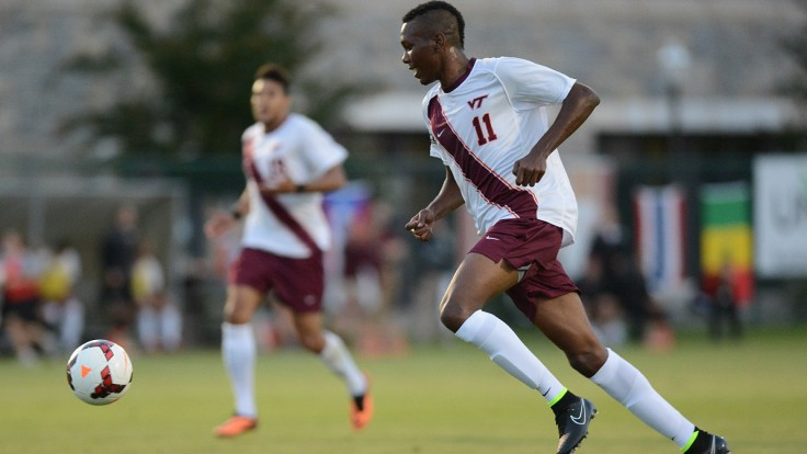 Ricardo John in action for Virginia Tech