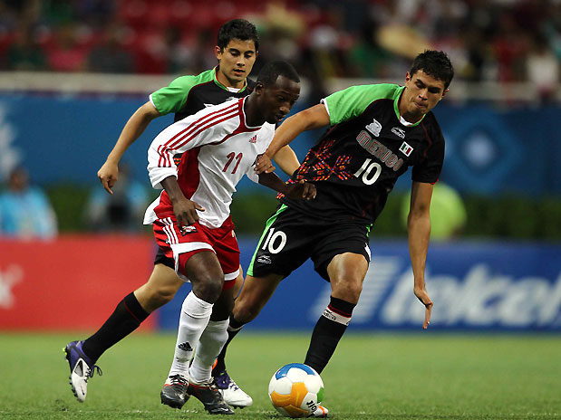 Micah Lewis vs Mexico at the 2011 PanAmerican games.
