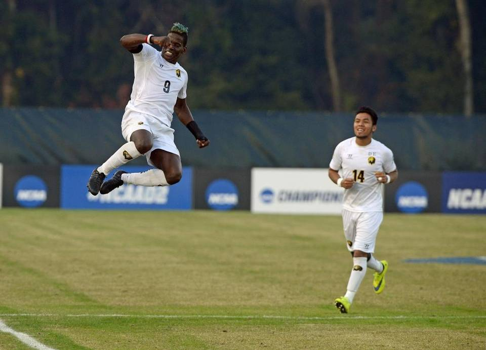 The Pfeiffer Falcons' Nathan Regis