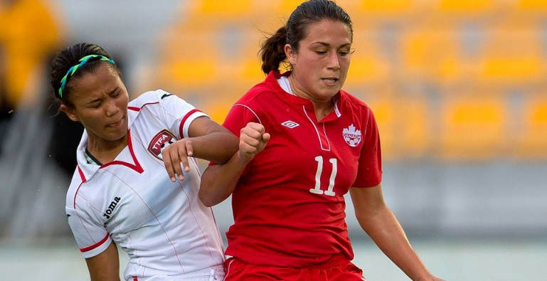 Amaya Ellis vs Canada U-17 on November 2, 2013