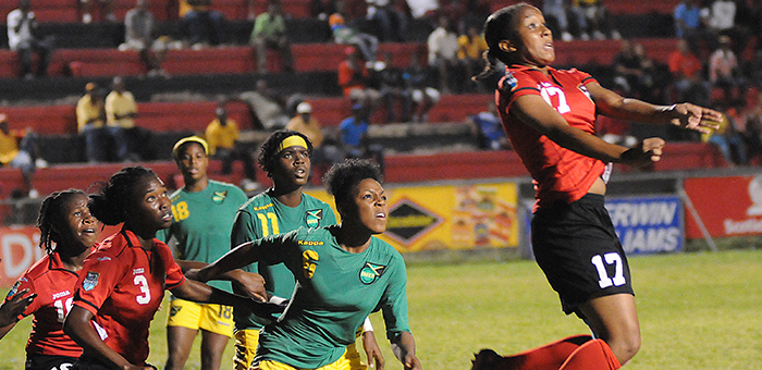 T&T Women's U-20 vs Jamaica
