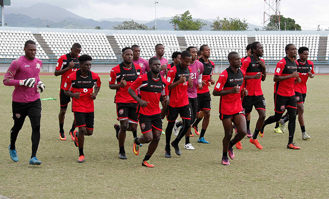 Senior Men resume preparations for Panama.