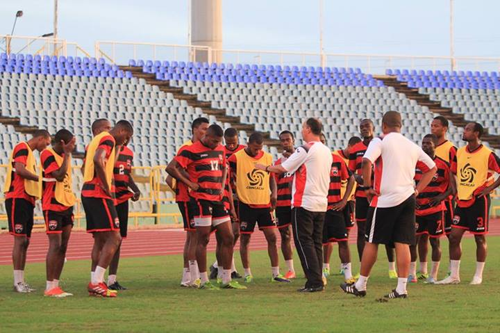 Soca Warriors working hard