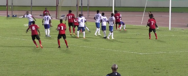 T&T men held to goalless draw by Martinique.