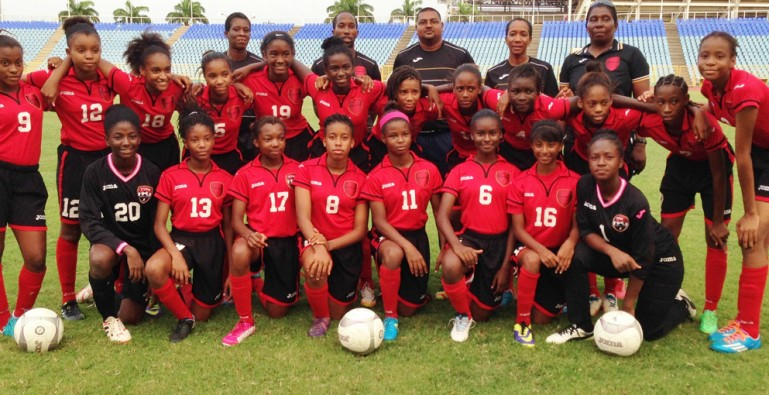 U-15 Girls make winning start at CONCACAF Championship.