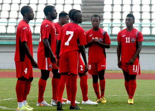 T&T footballers get tough PanAm Games draw.
