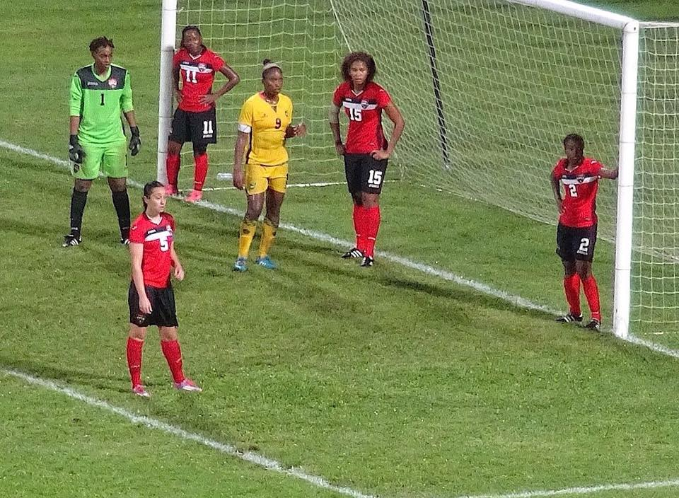 Women come from behind to defeat Jamaica.