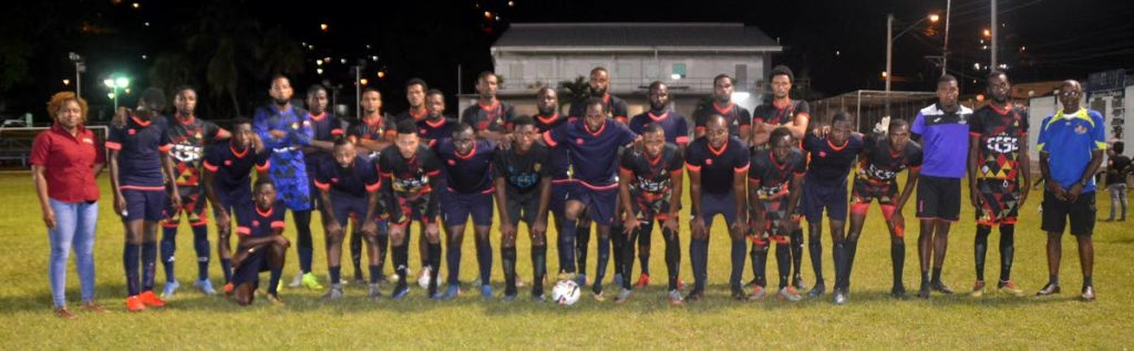 BPTT supports Carenage, Mayaro football partnership