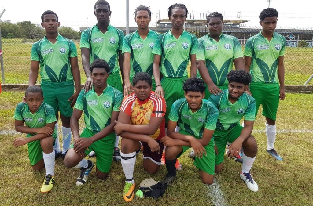 Members of the W Connection Under-18 team -