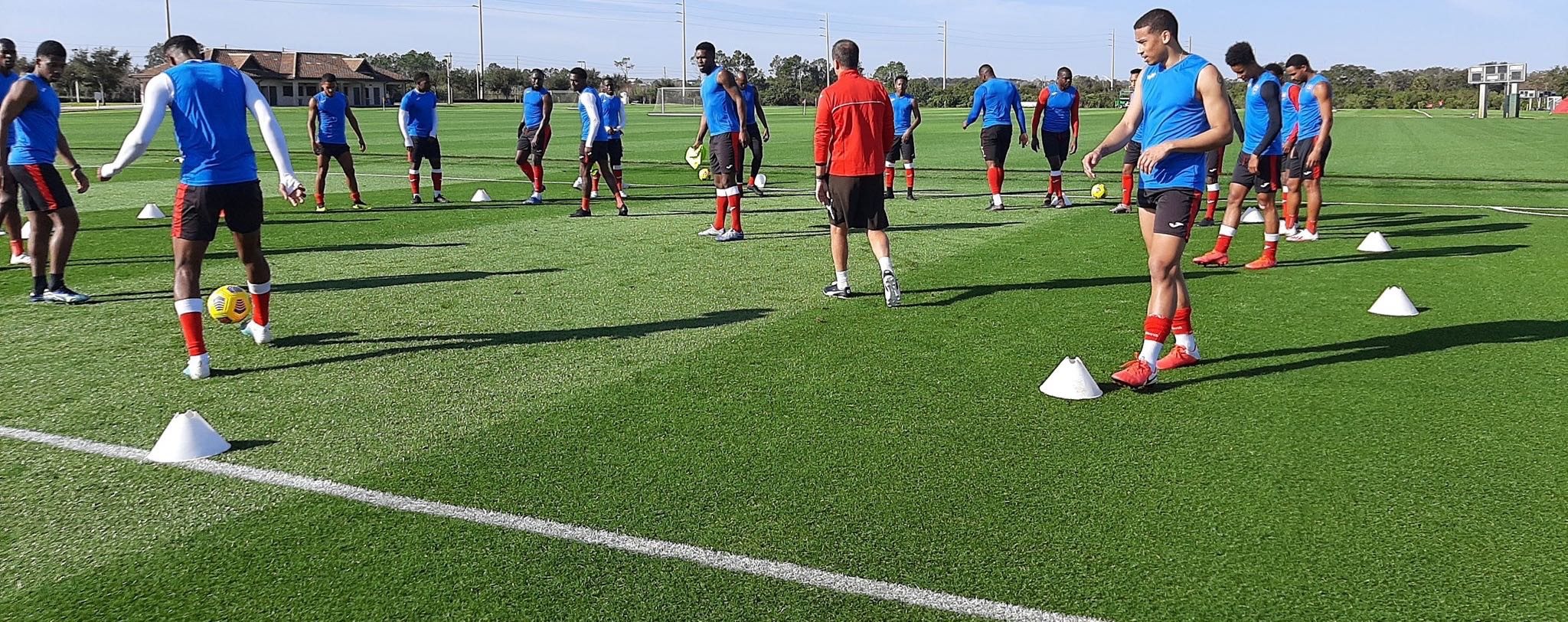 Photo: T&T training in Florida earlier this year.