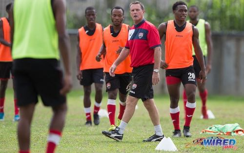 T&T men's team to resume training on Wednesday as...Fenwick seeks foreign-based talent for WC qualifiers.
