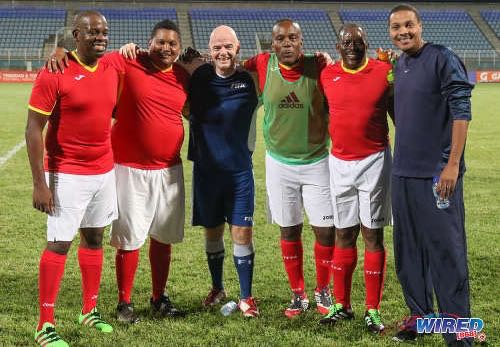 FIFA's Infantino pays tribute to ex-T&T captain.