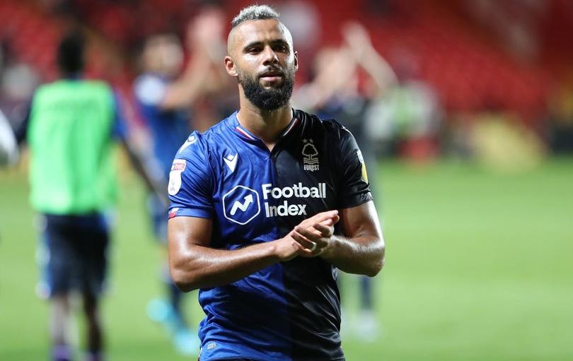 Forest's John Bostock applauds the fans after the Sky Bet Championship match at The Valley (Image: Dan Westwell)