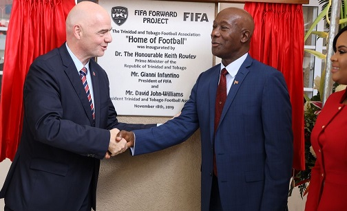 Fifa 'disrespect', inconsistent use of CAS and a role for Rowley: TTFA and Fifa trade blows.