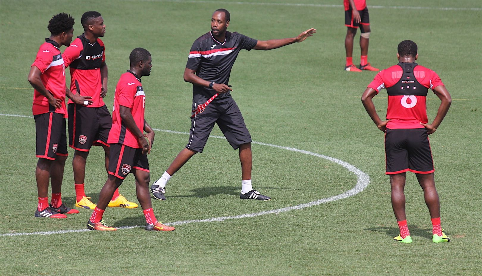 T&T's men stay focused ahead of Gold Cup opener.