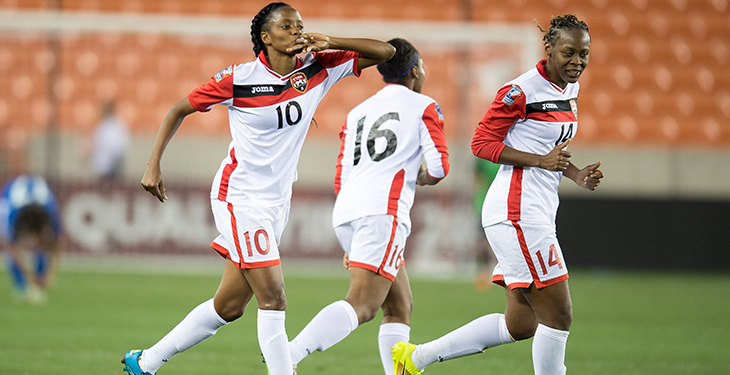 T&T Women cruise past Suriname in CFU Challenge Series opener.