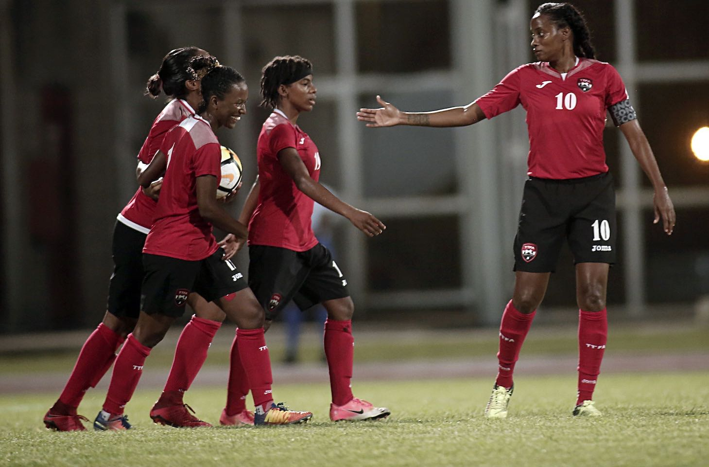 T&T secures top spot in Group C with 13-0 win over Grenada.