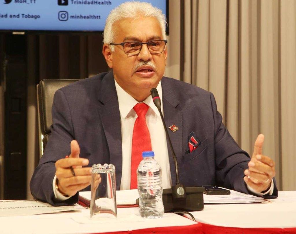 Deyalsingh to parents: Play football at home.
