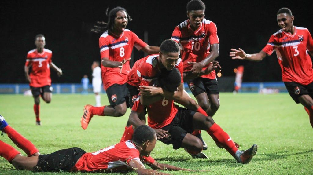 T&T U-15s beaten after leading 2-0.