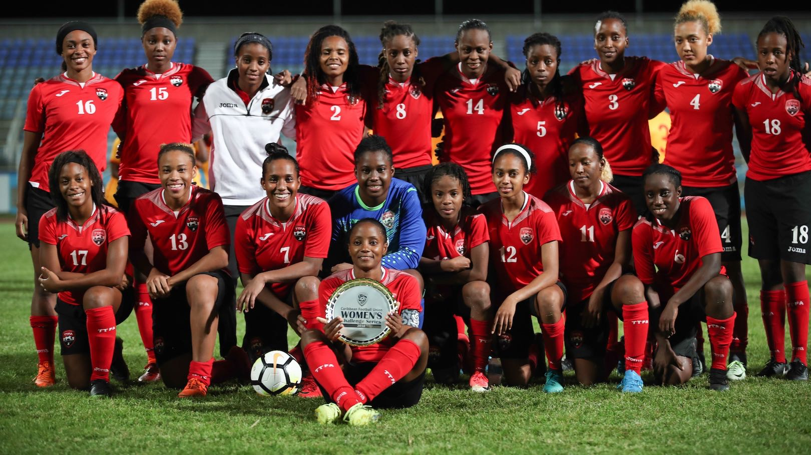 195 coaches worldwide apply for T&T Women's coaching job.