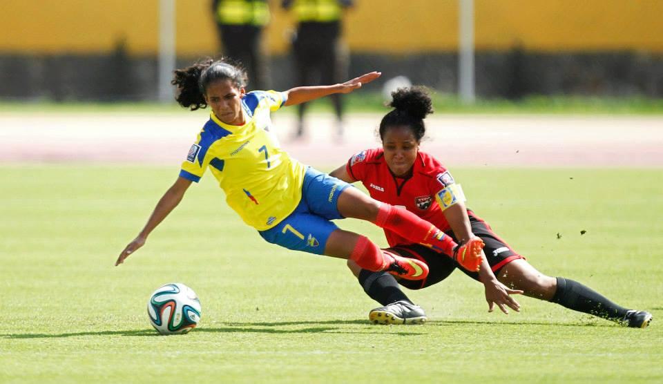 Maylee Attin-Johnson vs Ecuador