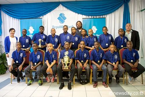 Republic Bank laud Youth champs