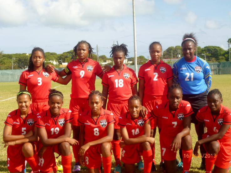 2013 Women's U-17 Team vs Antigua
