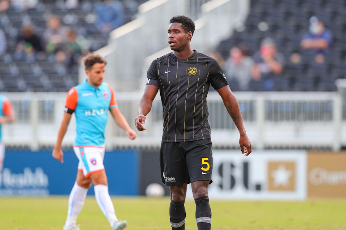 Charleston Battery defender Leland Archer