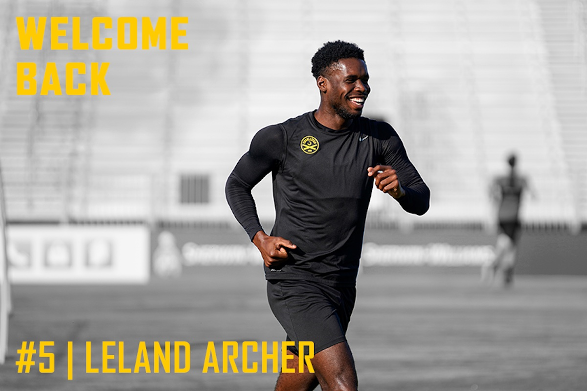Leland Archer returns for his fourth year with the Battery