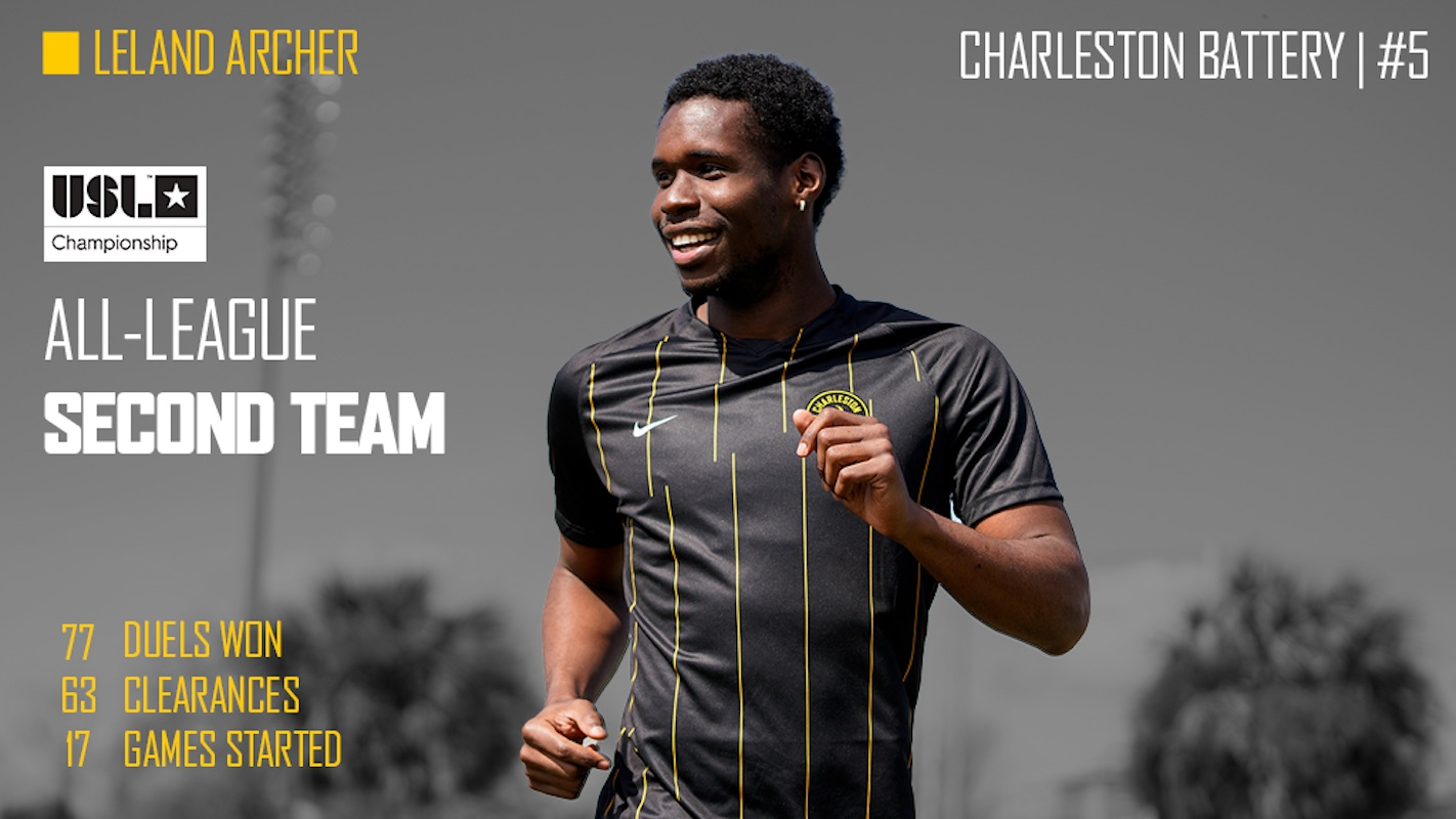 Leland Archer named to USL All-League Second Team