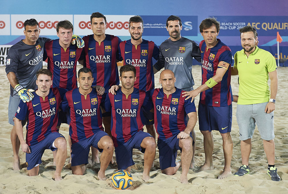 Barcelona Beach Soccer Team