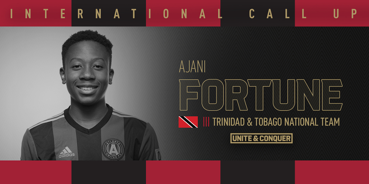 Ajani Fortune called into Trinidad and Tobago National Team