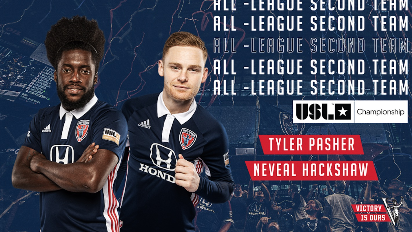 Neveal Hackshaw named to USL Championship 2020 All-League Second Team