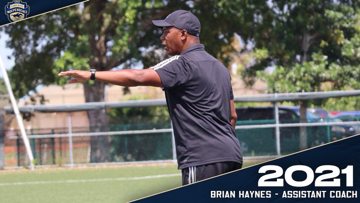 Brian Haynes named Charlotte Independence Assistant Coach