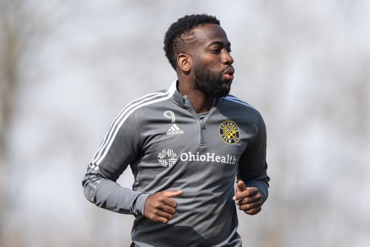 Columbus Crew SC  midfielder Kevin Molino sidelined for approximately six to eight weeks