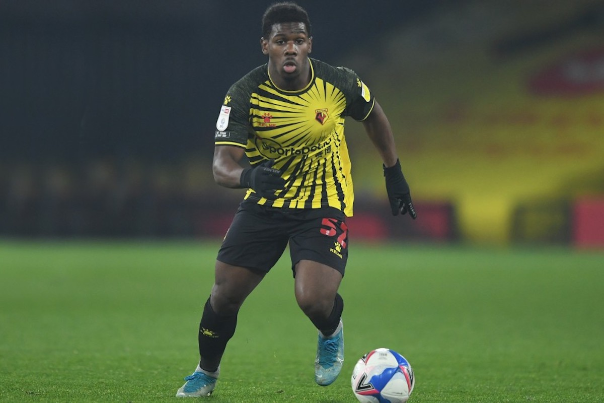 Watford FC midfielder Daniel Phillips in action during and English Championship match against Preston North End at Vicarage Road Stadium, Watford, England on November 28th 2020.